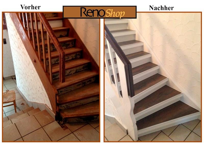 Treppe Belegen Mit Holz Oder Laminat Mir Unserem Treppensystem Ein Kinderspiel